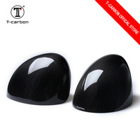 100% Real Carbon Fiber Cover Style Car Rearview mirror refiting for Mini F54 F55 F56 F57 F60 Car styling