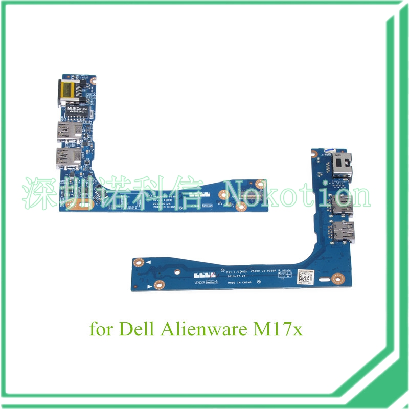 LAN Port Board USB for Dell Alienware M17x LS-9339