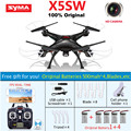 5*Battery SYMA X5SW X5C Upgrade FPV RC Quadcopter Drone with WIFI Camera 2.4G 4CH 6-Axis RC Helicopter VS X5C X5SC MJX X600