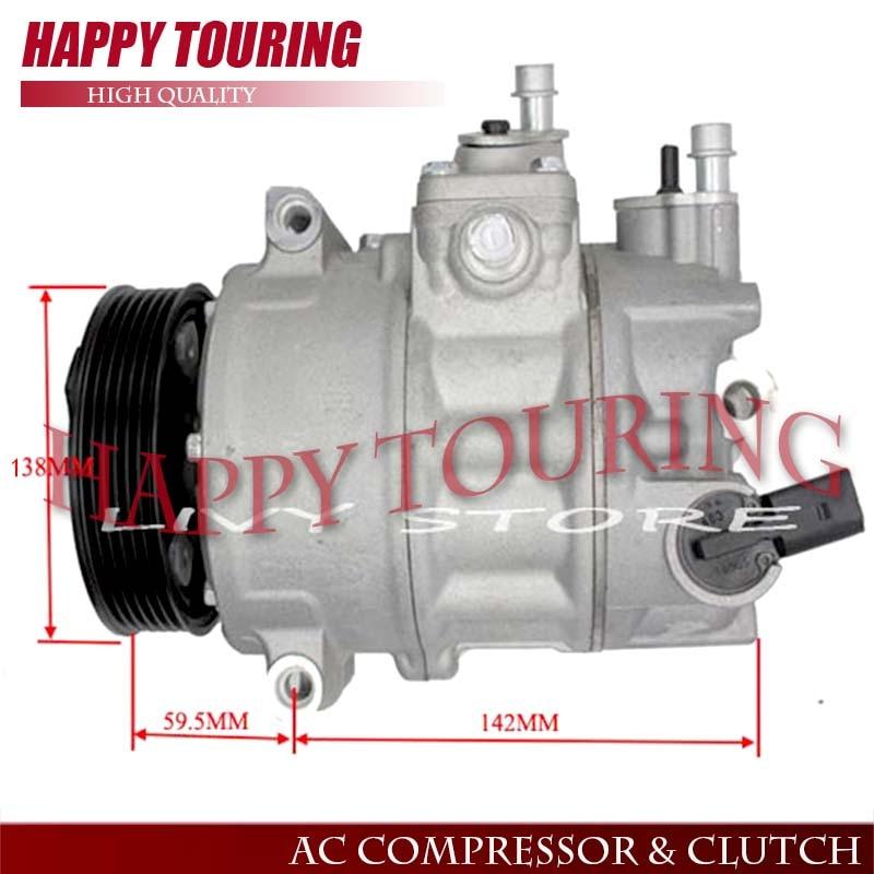 7SEU16C AC компрессор для автомобиля AUDI A3 для VW GOLF V 5 для SKODA Octavia 1K0820803D 1K0820803E 1K0820803F 1K0820803G 1K0820803H