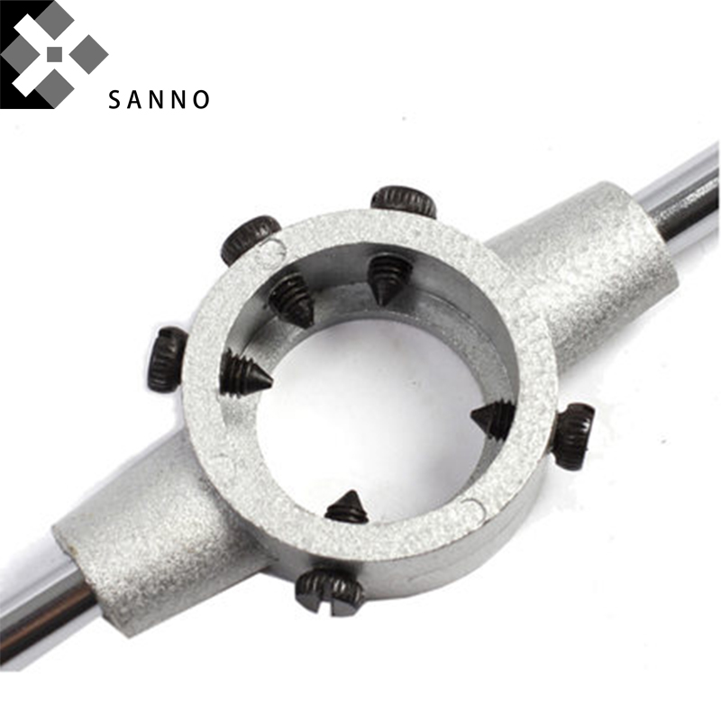 1pc HSS Machine M28 X 1mm Plug Tap and 1pc M28 X 1.0mm Die Threading Tool