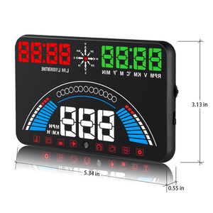 Image 5 - WiiYii pantalla frontal para coche OBD2 S7 HUD, velocímetro hud de temperatura GPS, herramienta electrónica de diagnóstico de datos, accesorio automático