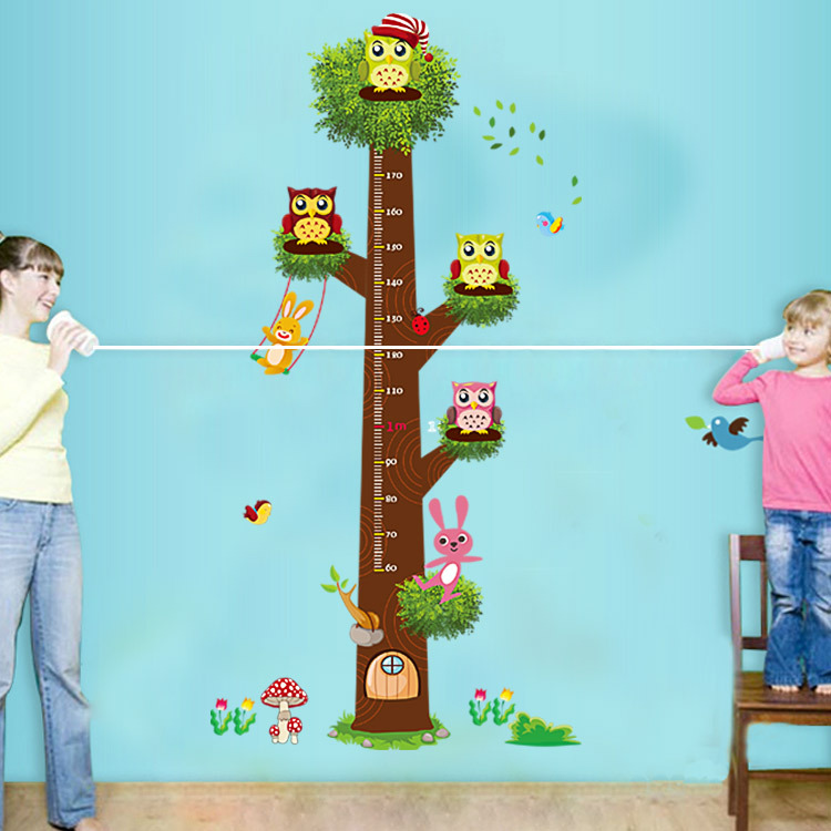 3019 Free Shipping High Quality Cartoon Wall Sticks For