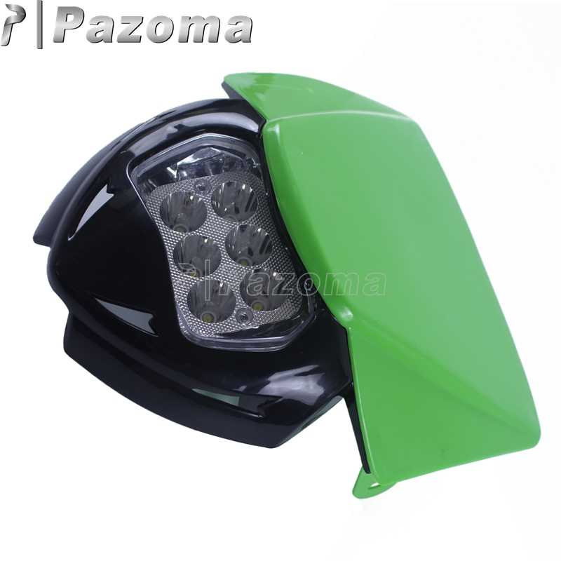 Detail Feedback Questions About Green Motocross Dirt Bike Led Front