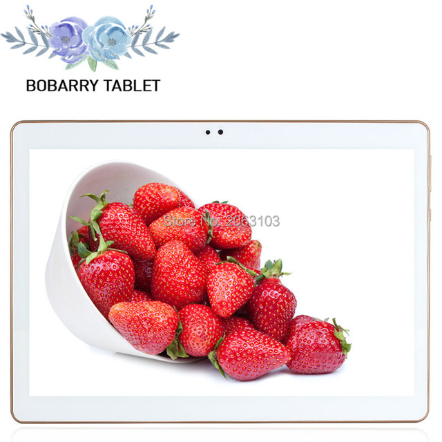 10.1 inch 3G 4G Lte The Tablet PC Octa Core 4G RAM 64GB ROM Dual SIM Card Android 5.1 Tab GPS bluetooth tablets +leather case