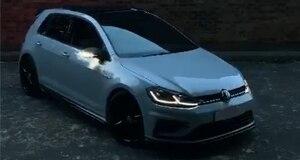Image 5 - اكسسوارات السيارات ل VW Golf 7 MK7 GTI R GTD الديناميكي الوامض LED بدوره إشارة الكريستال ل Lamando TouranL الجانب مرآة مصباح إشارة