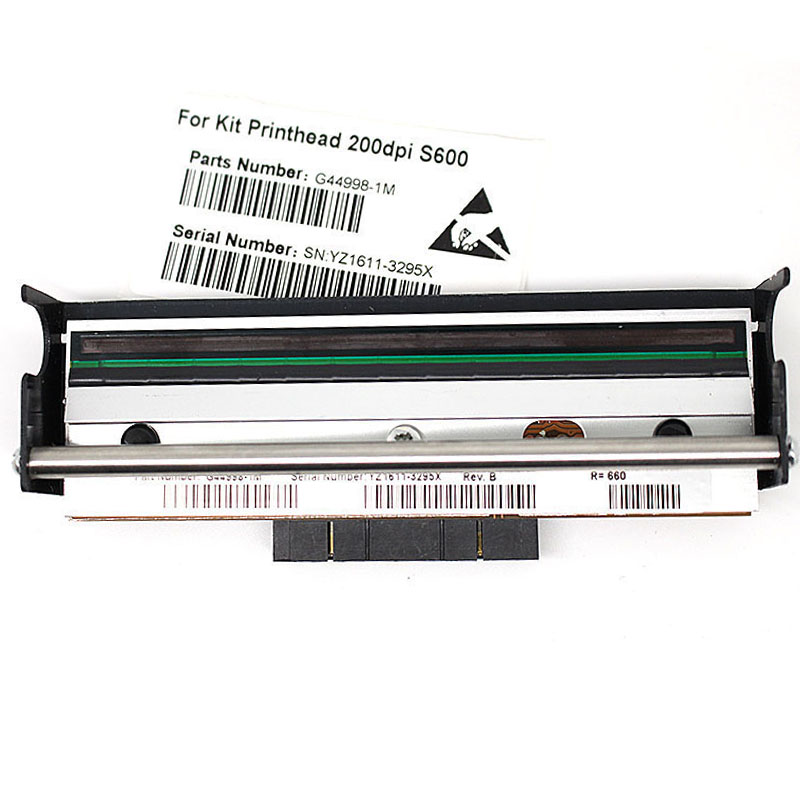 New Condition print head For Zebra S600 Thermal Label Printer 203dpi printer head G44998M 7 days