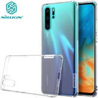 Étui pour Huawei P30 Pro housse Huawei P30 NILLKIN TPU Transparent étui souple en silicone avec emballage de vente au détail