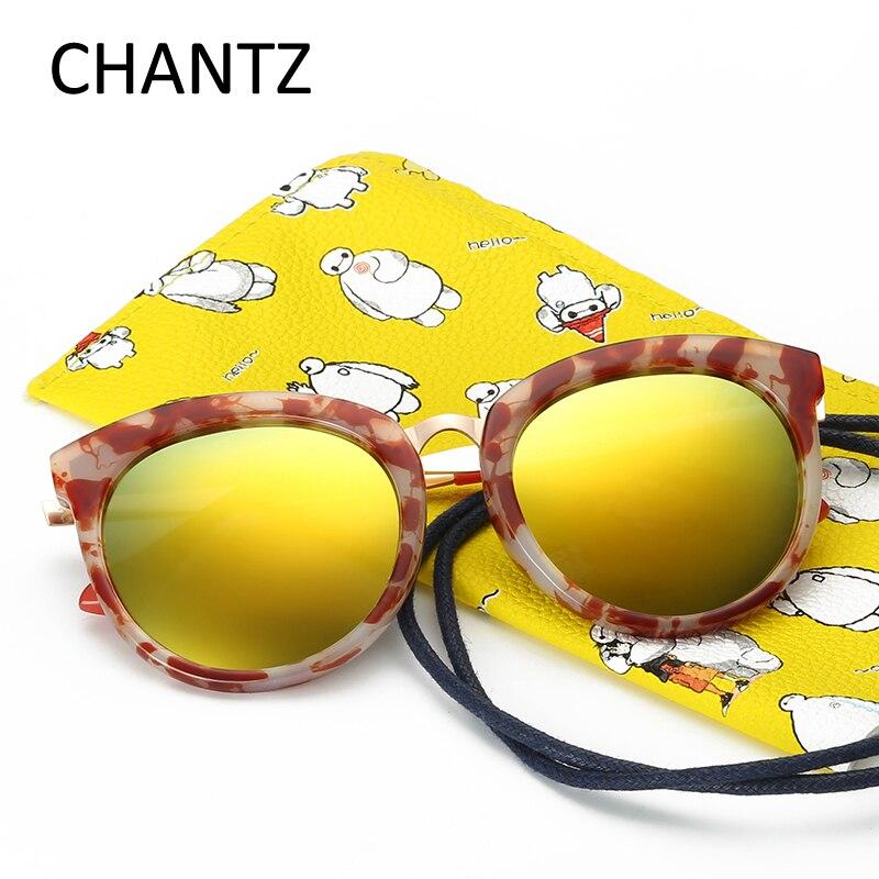 e81197890fc Round Kids Polarized Sunglasses Girls Boys UV400 Sun Glasses Retro Baby  Eyeglasses Marble Grain Frame Glasses Oculos Infantil