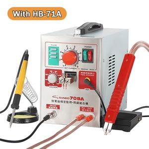 Image 2 - SUNKKO 709A Spot welding machine 1.9KW 18650 lithium battery pack welder machine With spot soldering pen soldering iron welding