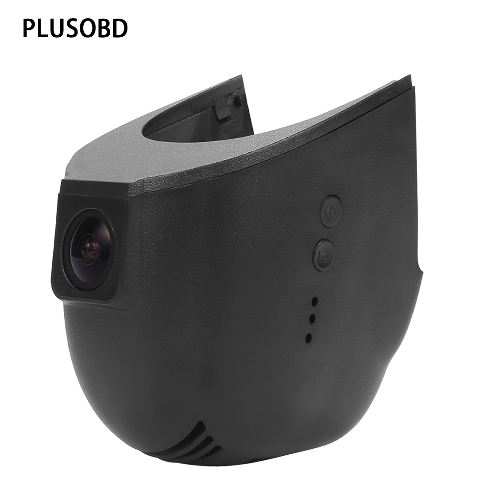 PLUSOBD Dashcam For Audi S5 S7 S8 A1 A3 A4 A5 A6 A7 Q3 Q5 30Fps Max 32G SD Card Motion Detection For Russian DVR Car Camera