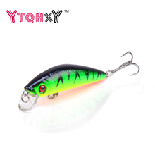 1 Unids Minnow Pesca de Señuelo 7 CM 8.5G iscas artificiais para pesca Fish Tackle Swimbait Crankbait Wobbler pesca YE-9Y