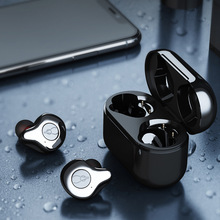 Electroplate Wireless Earphones Bluetooth HiFi Stereo Sports Headsets HD MIC