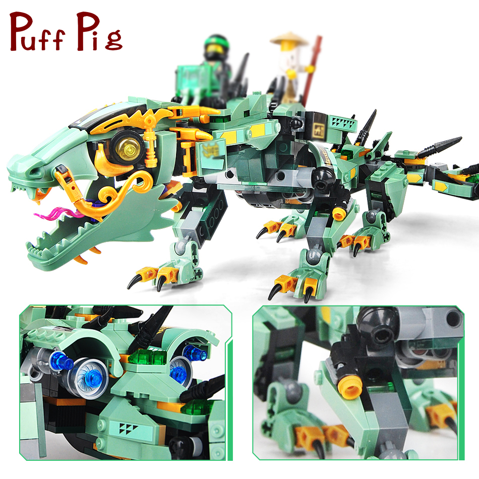 592PCS Movie Series Flying Mecha Dragon Building Blocks Compatible Legoed Ninjagoes Figures Enlighten Bricks Toys For Children цена 2017