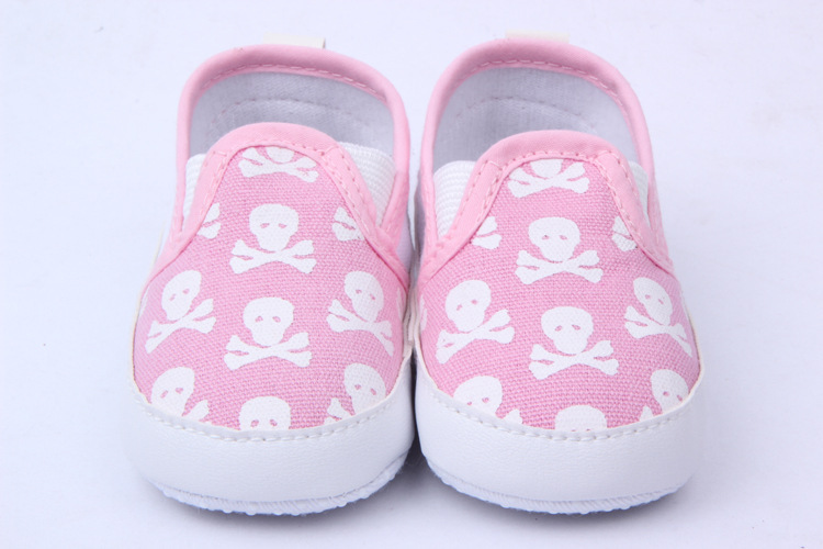 Baby Girl Skull Animal Baby Shoes Skull First Walkers Toddler Shoes New