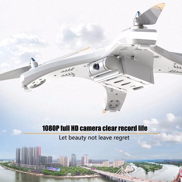 Nouveau drone de positionnement T1 GPS 1080 p HD aérien professionnel grand hélicoptère rc extérieur 5 drone moteur sans balai coupe-vent