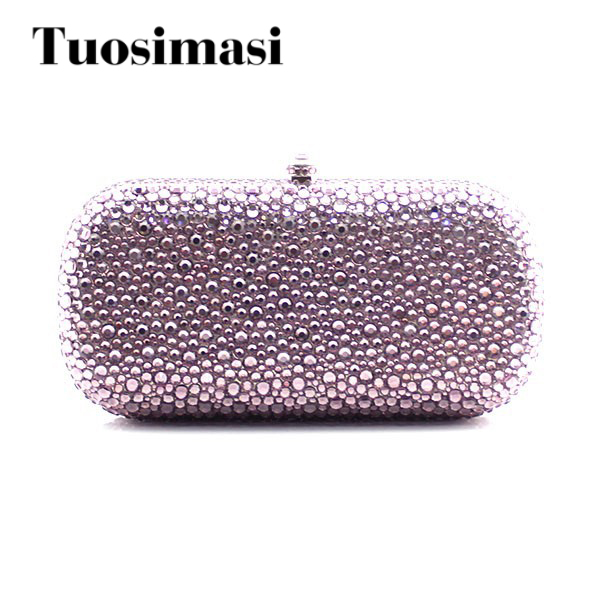 Women Crystal Diamond Evening Clutches party bag Brand Fashion Style Bags free shipping a15 36 sky blue color fashion top crystal stones ring clutches bags for ladies nice party bag