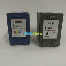 Для HP 21XL 22XL картридж с чернилами для HP Deskjet F2180 F2280 F4180 F4100 F2100 F2200 F300 F380 D1500 для HP картриджи 21 и 22