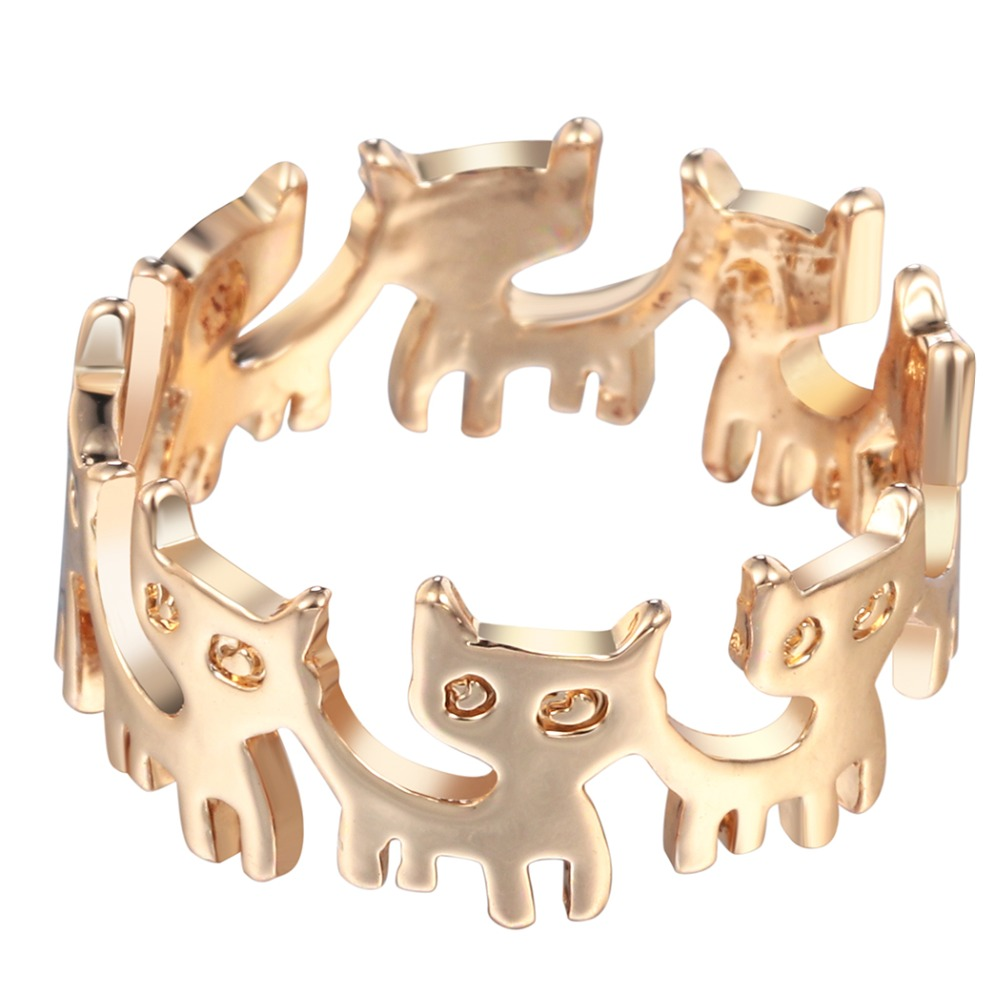 Cats Jewerly Connection Ring