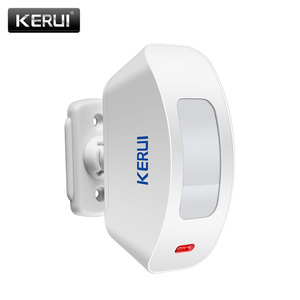 Image 3 - KERUI cortina de ventana inalámbrica P817, Sensor de movimiento PIR para sistema de alarma de casa, 433Mhz, para sistema de alarma K52 W18 G18 W20