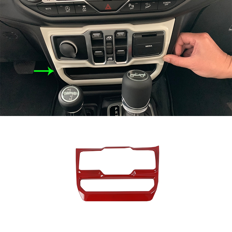 OUBOLUN Auto accessories  window rises cover Car Styling accessories For JEEP WRANGLER 2018