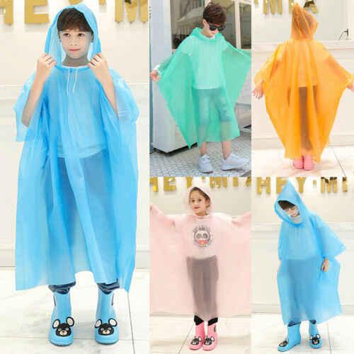 2019 ยี่ห้อเสื้อกันฝนเด็กการ์ตูนตลกเด็กทารก Hot Boys Girls Rainwear กันน้ำน่ารักขายร้อน