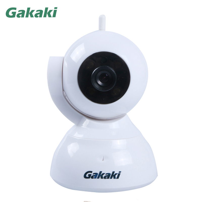 Gakaki 720P Wireless IP Camera CCTV WiFi Pan Tilt IR-Cut Home Surveillance Security Camera System with iOS/Android Baby Monitor wireless wifi ios android control hd pan tilt networok ip camera with phone operate work with g90b