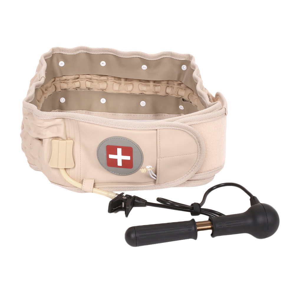 Health Spinal Lower Waist Air Traction Inflatable Belt Lumbar Protactor Brace кремы health