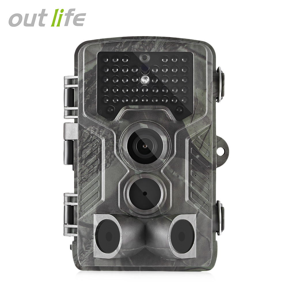 Outlife 3G 1080P 16MP Hunting Camera FTP 940nm Infrared Trail Camera MMS / SMTP SMS Wildlife Scouting Device 42 LEDs 2in Screen фотокамера для охоты oem s680m mms gprs smtp ftp