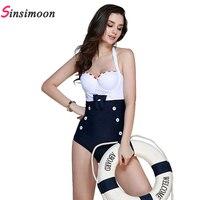 Solid Color Temperament One Piece Swimsuit Bandage Backless Sexy Swimwear Bodysuit Women Hot Sale Bathing Suit