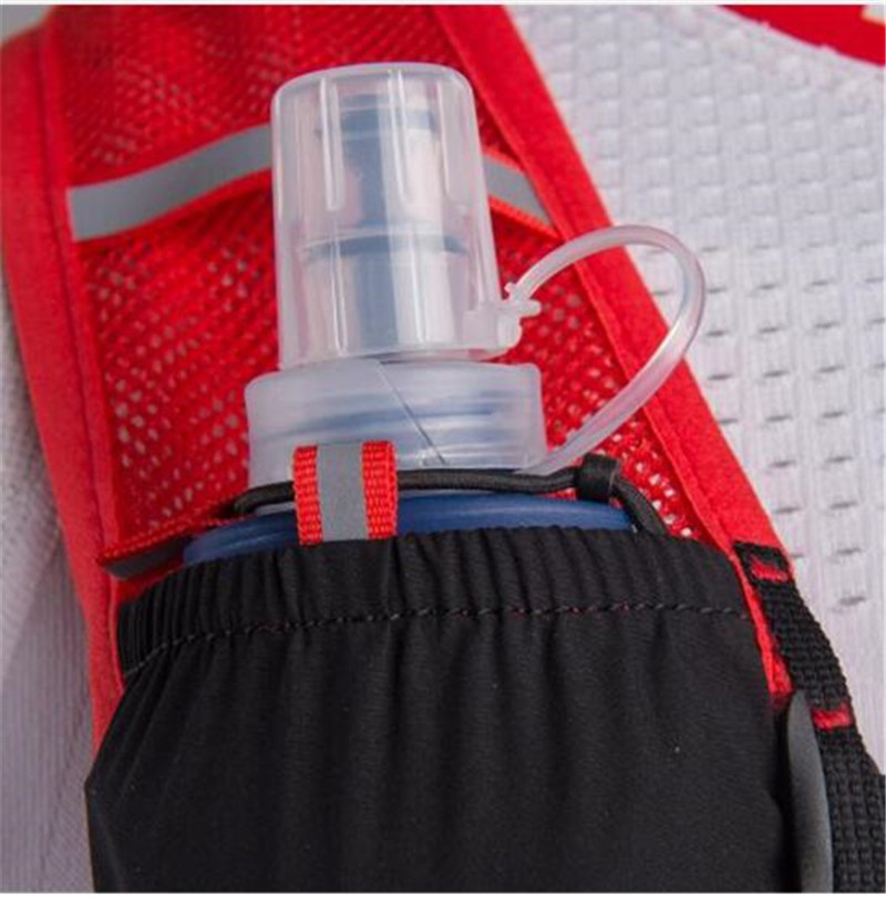 AONIJIE 5L sac à dos d'hydratation sac à dos gilet Marathon cyclisme escalade sac à dos d'eau harnais vessie course à pied - 6