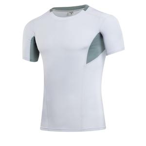Image 3 - Yuerlian 2019 liberação ginásio tshirt para homens logotipo personalizado calças de fitness masculino rashgard esporte camisa homem compressão ginásio camisa
