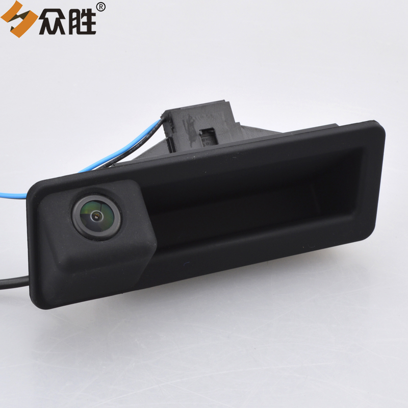 Car Rear View Camera for BMW X5 X1 X6 E39 E46 E53 E82 E88 E84 E90 E91 E92 E93 E60 E61 E70 E71 E72 Trunk Handle Parking Camera 2pcs set led license plate light error free for bmw e39 e60 e61 e70 e82 e90 e92 24smd xenon white free shipping