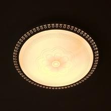 Ultra-thin intelligent remote control protection LED ceiling lamp unlimited dimming bedroom living room dining room lighting