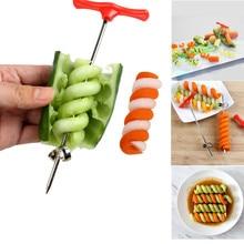 Детская шлифовальная пищевая добавка, детская пища, овощной спиральный резак, украшение для еды, детский ланч, сделай сам, кухонная форма, инструменты