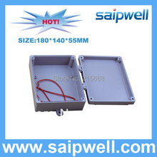 Saipwell 180*140*55MM IP67 Aluminum waterproof Box For Industrial Use SP-AG-FA8
