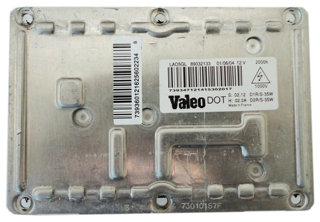 New Valeo LAD5GL 4Pin D1S D1R D2S D2R Xenon Headlight Control Unit Ballast ECU_640x640 aliexpress com buy new valeo lad5gl 4pin d1s d1r d2s d2r xenon Basic Electrical Wiring Diagrams at n-0.co