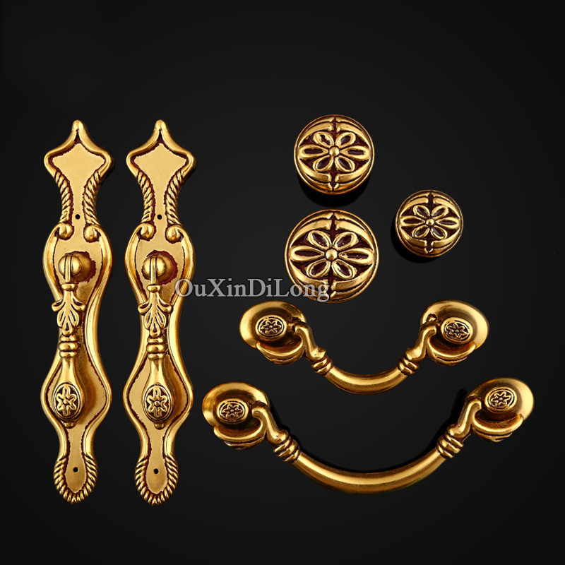 Hot 10PCS European American Antique Kitchen Door Furniture Handles Cupboard Drawer Wardrobe Wine Cabinet Pulls Handles and Knobs 2017 free shipping european kitchen handle ivory white drawer wardrobe door handles modern simple hardware wine cabinet pulls