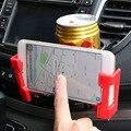 Hotsale 80mm-145mm ancho de soporte para teléfono móvil 75mm soporte para coche salida de aire del coche multifuncional portavasos SD