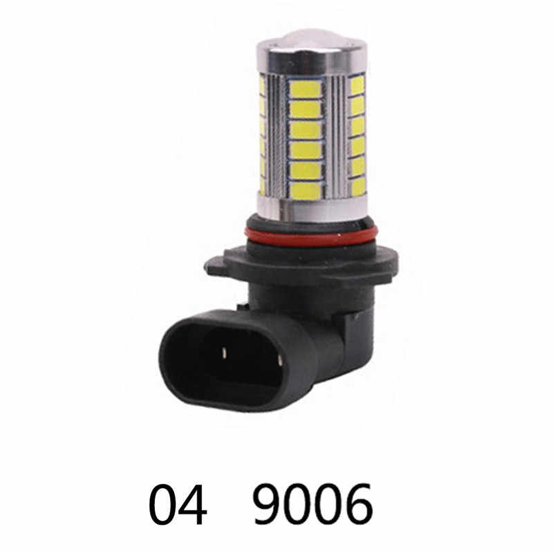 H4/H7/9005/9006 33SMD 800LM COB LED Low Consumption High Power Car Canbus Headlight Bulb Running Light White Motorcycle Fog Lamp