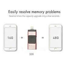 Dr. памяти Высокое Скорость USB Flash Drive 3 в 1 для IPhone 5/5S/5c/6s/6 плюс OTG накопитель для Android для 16 ГБ Бесплатная доставка