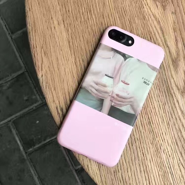 reputable site 19251 5d2c8 US $4.99 |Korean Fashion Baby Pink Milk Phone Cases Silicone for iphone 6  6s 6Plus 6sPlus 7 7Plus personality women girls female hot cases-in Fitted  ...