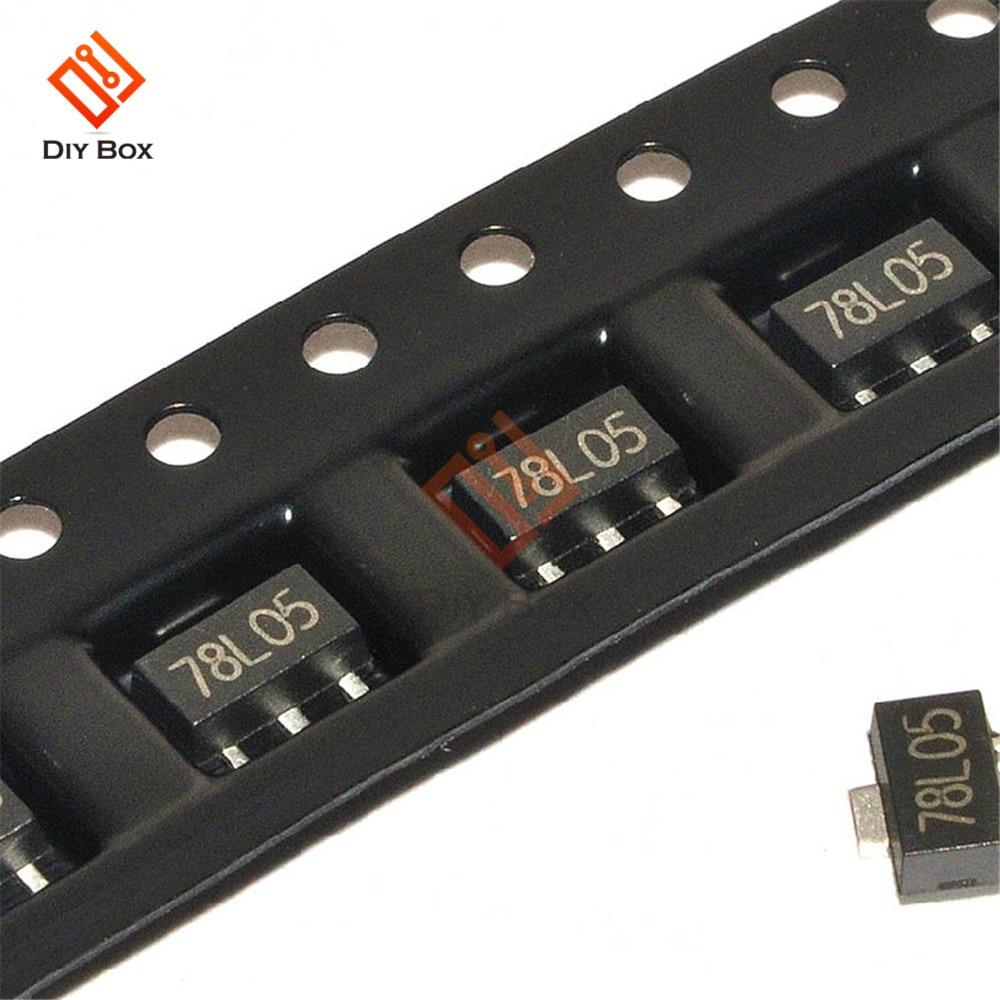 20PCS 78L15 15 V SOT89 Régulateurs Transistor SMD Transistor