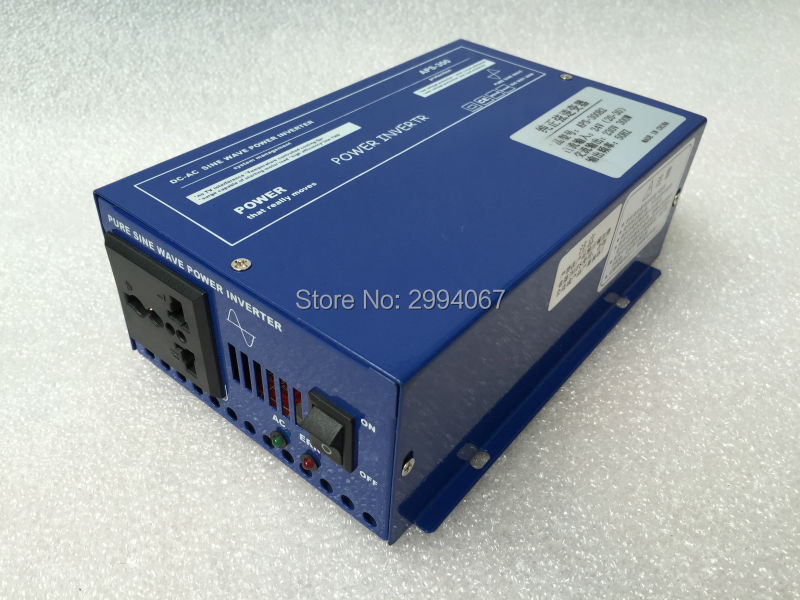 300W Pure sine wave Power Inverter high frequency solar dc to ac power converter DC12V 24V