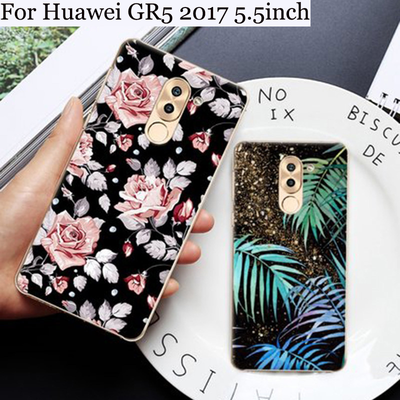 For Huawei GR5 <font><b>2017</b></font> case Cute cartoon Soft shell For Huawei <font><b>GR</b></font> <font><b>5</b></font> <font><b>2017</b></font> back cover case <font><b>2017</b></font> For Huawei GR5 phone cases cover image