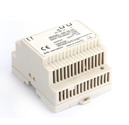 Din rail Single Output Switching power supply DR-30 30W 5V 12V 24V ac dc converter ac to dc dr siide dr 30 5 5v 6a 30w ce singie output draii strip iight dispiay ied driver source swtching pwer supiy voit