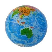 Голубая карта мира пена земля Глобус снятие стресса надувной мяч атлас географическая игрушка стимулирует детей к упражнениям