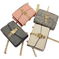 2017 Autumn New Arrive Shoulder Crossbody Bag Leather And Chain Designer Famous Brand Luxury Small Fashion Bag Woman Messenger