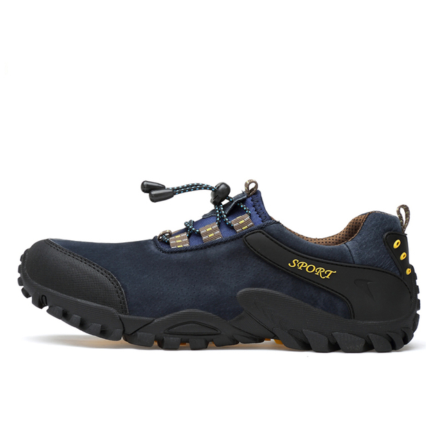 Size 38-45 Outdoor Breathable Hiking Shoes Men Lightweight Walking Trekking Wading Shoes Men Outdoor sport shoes Sneakers Male