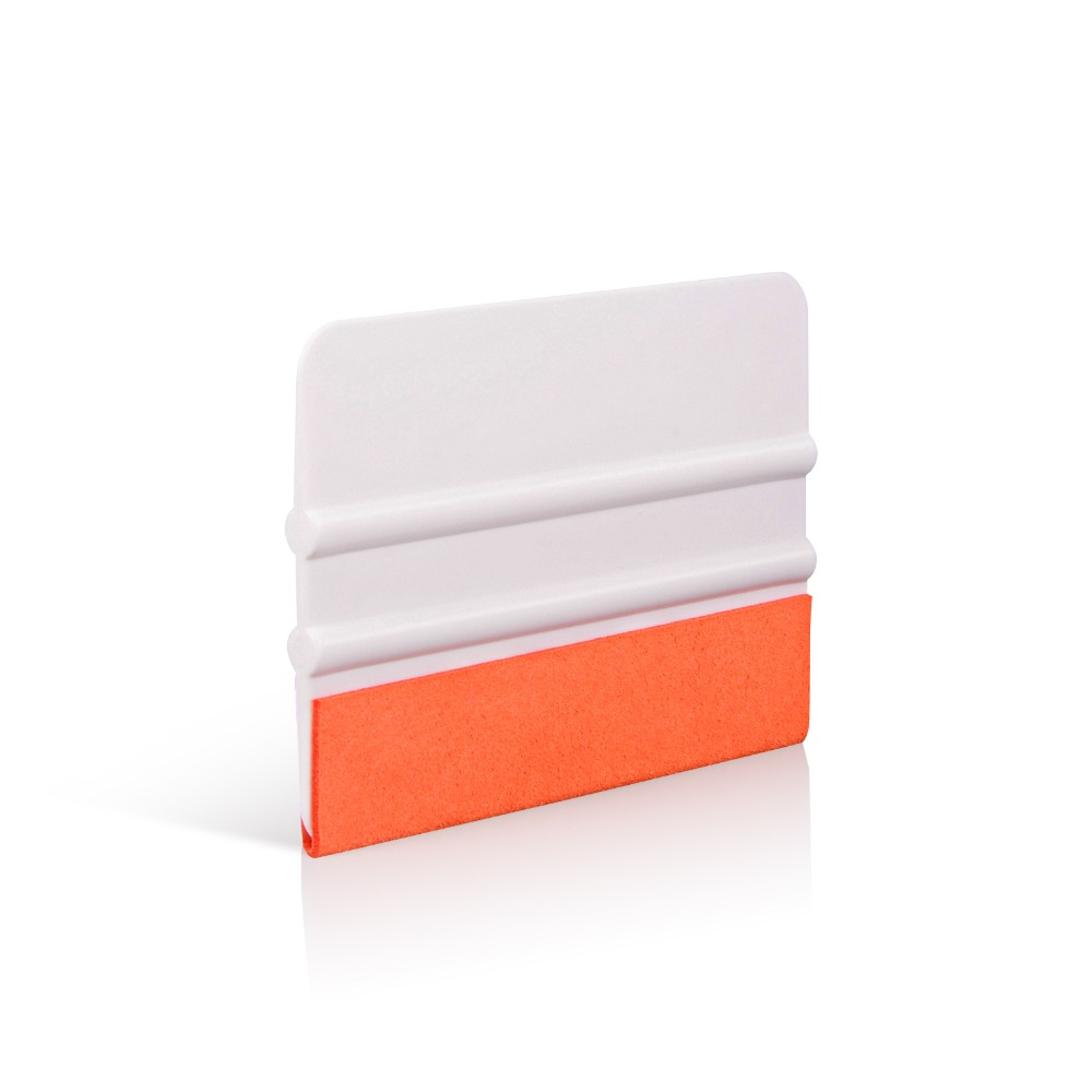 FOSHIO Scratch-free Suede Felt Teflon Squeegee Scraper Carbon Fiber Vinyl Car Film Wrap Window Tint Tools Styling Accessories